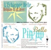 Beerlabel Belgium 93 - Beer