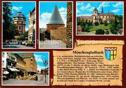 72747103 Moenchengladbach Wasserturm Dicker Turm Muenster St Vitus Altstadt Gesc - Moenchengladbach