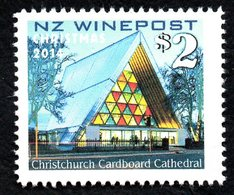 New Zealand Wine Post Cardboard Cathedral - Unclassified