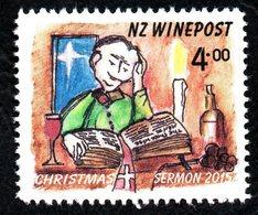 New Zealand Wine Post Xmas Satmp- The Sermon - New Zealand