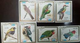 L) 1991 CUBA, AUTOCTONAS BIRDS, TOCORORO, WOODPECKER, PARROT, NATURE, FAUNA, SPECIE, MNH - Unused Stamps