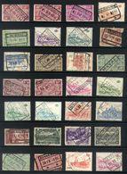 Y62 - Belgium - Railway Parcel Stamps - Used Lot - Sonstige