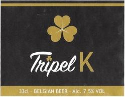 Beerlabel Belgium 210 - Beer