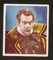 RAYMOND MASSEY CIGARETTES CARD GODFREY PHILLIPS CHARACTERS Come To LIFE 1930s VINTAGE - Tobacco (related)