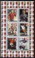 65889 Chechenia 1998 Football World Cup (France 98) Perf Sheetlet Containing 6 Values, Unmounted Mint - Coupe Du Monde