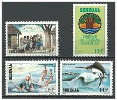SENEGAL 1989, Tourism   Mi. 1008/11 - Yv. 793/96 Serie Cpl. 4v. Nuovi** Perfetti - Senegal (1960-...)