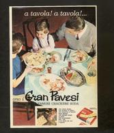 GRAN PAVESI SODA  CRACKERS  POSTCARD PUBLICITE - Publicité