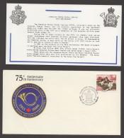MILITARY -  Canadian Forces Postal Service  FDC  Sc 1094 - With Insert - Omslagen Van De Eerste Dagen (FDC)