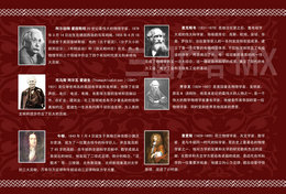 [T31-050 ]  Charles  Darwin Albert.Einstein Kelvins Christiaan Huygens James Clerk Maxwell,  Pre-stamped Card - Famous People