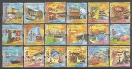 2006 HONG KONG- ATTRACTIONS District 18V - 1997-... Chinese Admnistrative Region