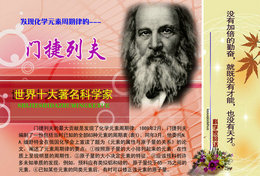 [T31-057 ]  Dmitri Mendeleev Chemist  Inventor Chemistry ,  Pre-stamped Card, Postal Stationery - Chemistry