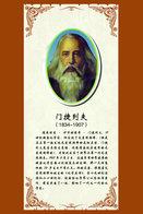 [T31-067 ]  Dmitri Mendeleev Chemist  Inventor Chemistry ,  Pre-stamped Card, Postal Stationery - Chemistry