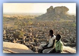 SOUDAN Francais MALI  Village DOGON  Tombouctou  10  (scan Recto-verso) FRCR00076 P - Sudan