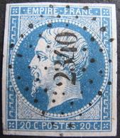 LOT R1752/200 - NAPOLEON III N°14A - LUXE - SUPERBE PC 2340 : ORLEANS (LOIRET) - 1853-1860 Napoleon III