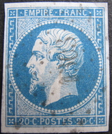 LOT R1752/201 - NAPOLEON III N°14A - PC 1303 : FONTAINEBLEAU (SEINE ET MARNE) - 1853-1860 Napoleon III