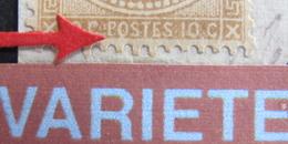 LOT R1752/212 - NAPOLEON III Lauré N°28A Sur Fragment - BEAU CàD : MARSEILLE 2 - VARIETE ☛ FILET SUD COMPLETEMENT ABSENT - 1863-1870 Napoleon III With Laurels