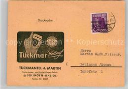 42766694 Ohligs Firma Tueckmar Solingen - Solingen