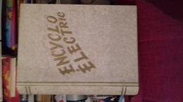 Coffret Encyclo Electric 23x28 Cm Avec Mode D'emploi;ses Fiches,ses Prises - Elektronische Spelletjes