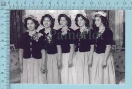 """Les Quintuplées Dionne # 18 -  CPM """" Jumelles Dionne""""  Né En 1934,reproduction - Femmes Célèbres"""