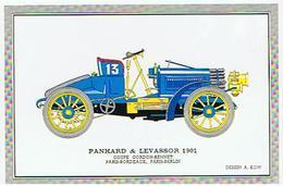 VOITURE  PANHARD &  LEVASSOR  1901   COUPE GORDON BENNET PARIS BORDAUX  A KOW  ****   RARE    A   SAISIR ***** - Cartes Postales