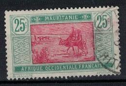 MAURITANIE          N°  YVERT  42  ( 6 )    OBLITERE       ( O   3/13 ) - Oblitérés