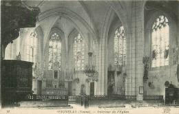 89 SEIGNELAY. Intérieur De L'Eglise - Seignelay