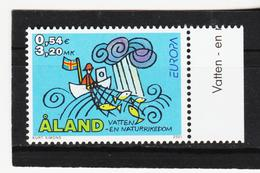 AUA901 ALANDINSELN 2001 Michl 191 ** Postfrisch ZÄHNUNG SIEHE ABBILDUNG - Ålandinseln