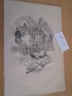 GRAVURE Extraite De Livre De 1850 Environ / VICTOR HUGO - NAPOLEON LE PETIT - LE GOUVERNEMENT , La Page Fait 18x27 Cm - Non Classés