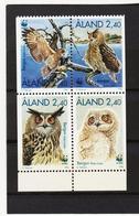 AUA904 ALANDINSELN 1996 Michl 109/12 ** Postfrisch ZÄHNUNG SIEHE ABBILDUNG - Ålandinseln