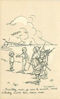 Illustrateur.n° 40470. Poulbot.edition Ternois N°  90 - Poulbot, F.