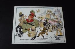 Militaire 39/45.n° 42164. Hitler Et Ses Generaux. Illustrateur Asti.14x10.5 Cm. - Weltkrieg 1939-45