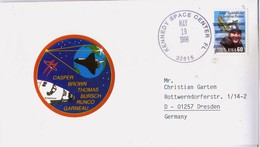 1996 USA  Space Shuttle Endeavour STS-77 Commemorative Cover - FDC & Commemoratives