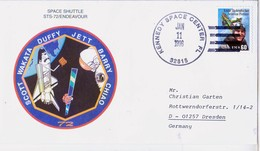 1996 USA  Space Shuttle Endeavour STS-72 Commemorative Cover - FDC & Commemoratives