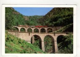 CP  10*15-PL1822-CHEMIN DE FER TOURISTIQUE DE LA MURE VIADUC - La Mure