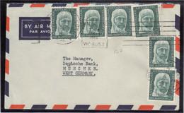 E27 - AAT PO 7 - 6 Exemplaires Sur Lettre à Destination De WEST GERMANY. - Territoire Antarctique Australien (AAT)