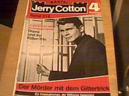 G-man Jerry Cotton - Band 219 - 4. Auflage - Bastei Verlag - Romanheft - Books, Magazines, Comics