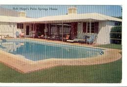 Carte Postale Californie - Bob Hope's Palm Springs Home - Piscine - Palm Springs
