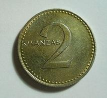 Angola 2 Kwanzas 1977 Varnished - Angola