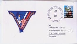 1997 USA  Space Shuttle Atlantis STS-81 Commemorative Cover - FDC & Commemoratives