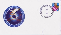 1997 USA  Space Shuttle Columbia STS-94 Commemorative Cover - FDC & Commemoratives