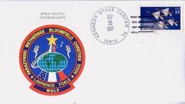 1997 USA  Space Shuttle  Atlantis STS-86 Commemorative Cover - FDC & Commemoratives