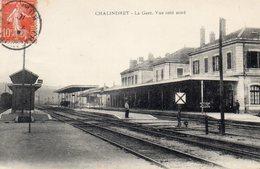 52 HAUTE MARNE - CHALINDREY La Gare, Vue Côté Nord - Chalindrey