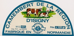 CAMENBERT DE LA REGION D'ISIGNY - Cheese