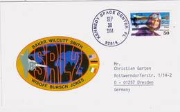 1994 USA  Space Shuttle  Endeavour STS-68 Commemorative Cover - FDC & Commemoratives
