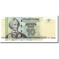 Billet, Transnistrie, 10 Rublei, 2007, KM:44, NEUF - Moldavie