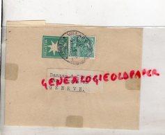 SUISSE - BANDE PRESSE JOURNAUX- VILLARD- DANZAS & CIE S.A.- GARE CORNAVIN- GENEVE 1939 HELVETIA - Switzerland