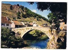 PONT De MONTVERT . 48 . Vue Generale Et Le Grand Pont .1974.. - Villefort
