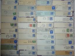 MARCOPHILIE 40 Flammes Pays-Bas Années 1930 - Postal History