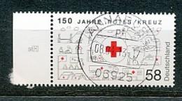 GERMANY  Mi.Nr. 2998 150 Jahre Rotes Kreuz- Used - Gebraucht