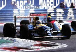 [MD1463] CPM - PROMOCARD N° 6311 - PATRESE SU WILLIAMS INSEGUITO DA SENNA - NV - Grand Prix / F1